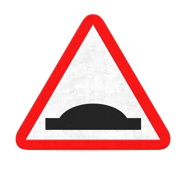 Sinal de estrada da colisão perigo Foto gratuita