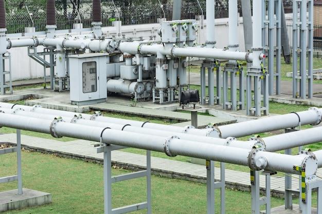 Sistema de abastecimento de energia Foto gratuita