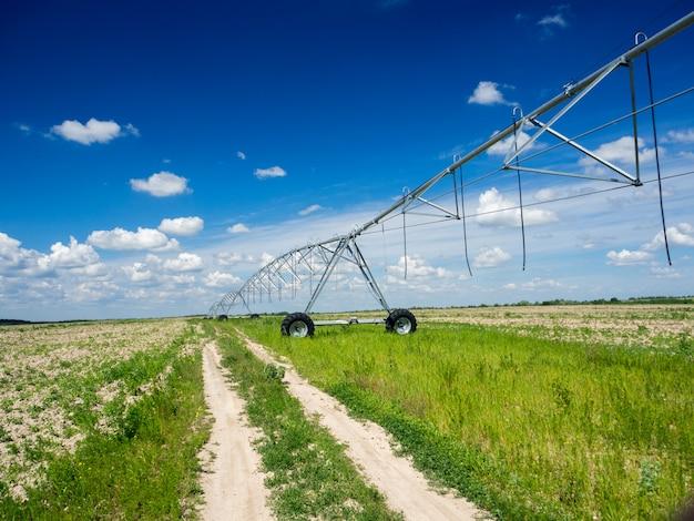 Sistemas de irrigação modernos Foto Premium
