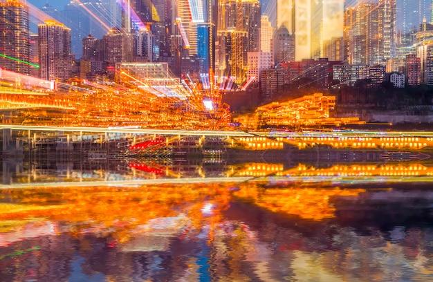 Skyline da rua scenic dong atração tradicional Foto gratuita