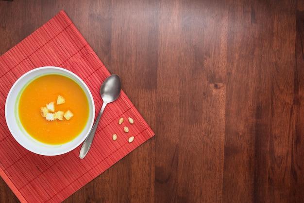 Sopa de abóbora Foto gratuita