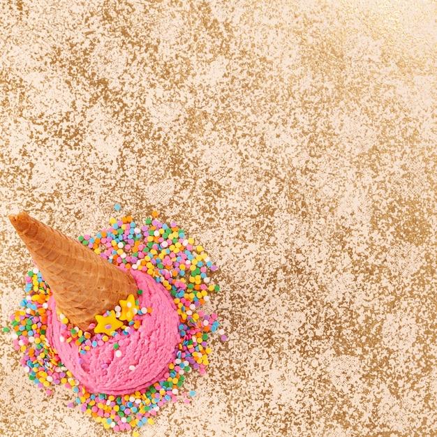 Sorvete e verão Foto Premium