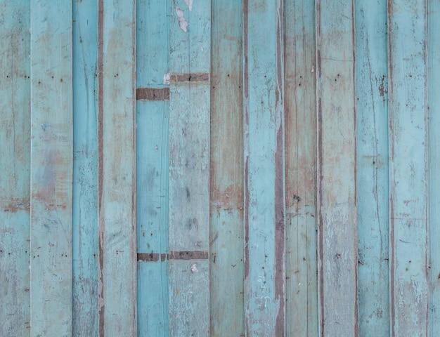 Spoiled parede de madeira azul Foto gratuita