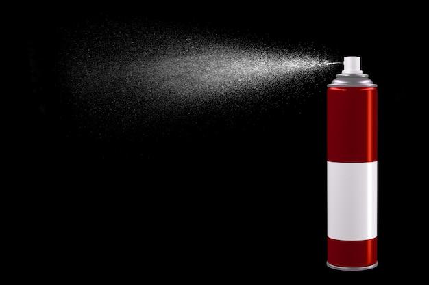 Spray de lata de inseticida Foto Premium