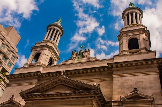 St. jean baptiste igreja católica romana em nova york Foto Premium