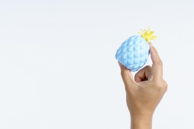 Stress ball para alívio da síndrome do túnel do carpo Foto Premium