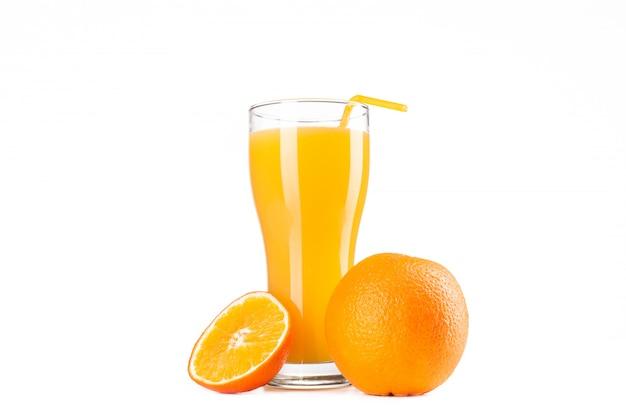 Suco de laranja Foto Premium