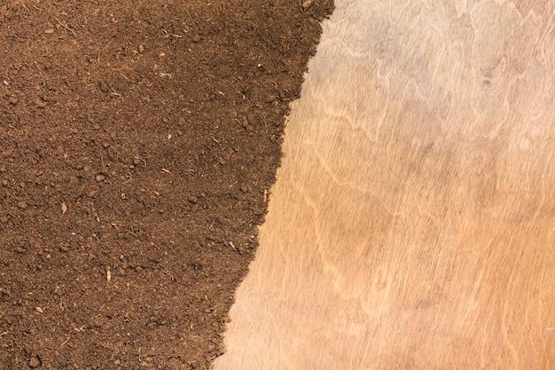 Sujeira e textura da superfície de madeira Foto gratuita