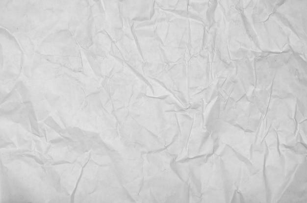 Superfície de papel vazia de papel amarrotada branca. tinta de livro de pastéis pintar vista superior Foto Premium