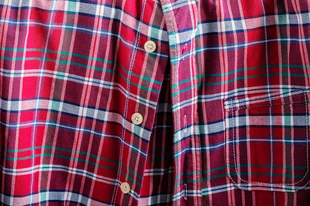 Superfície de uma camisa. Foto Premium