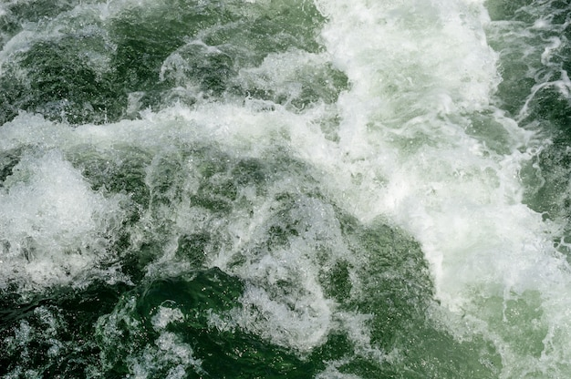 Superfície do mar com ondas Foto Premium