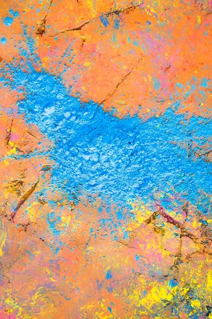 Superfície pintada brilhante Foto gratuita