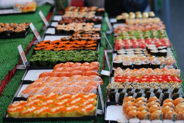 Sushi, comida do japão Foto Premium