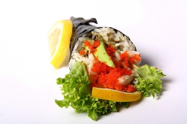 Sushi em branco Foto gratuita