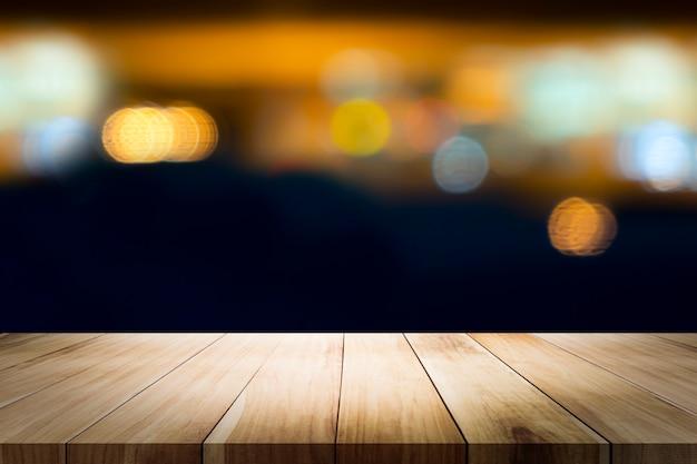 Tabela de madeira com cafetaria do borrão. Foto Premium