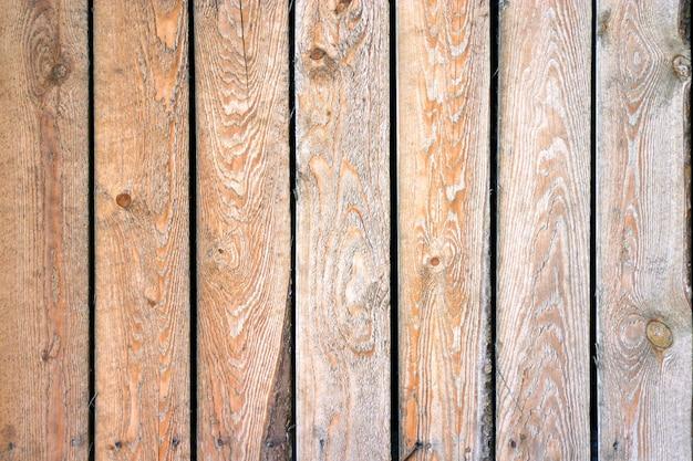 Tábuas de madeira Foto Premium