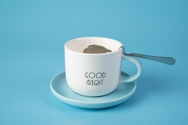 Taça branca Foto Premium