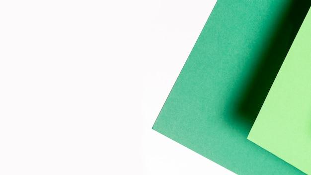 Tapete trançado verde para tiro de ângulo alto fitness Foto gratuita