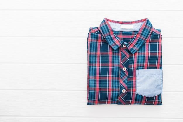 Tartan ou camisa xadrez Foto gratuita