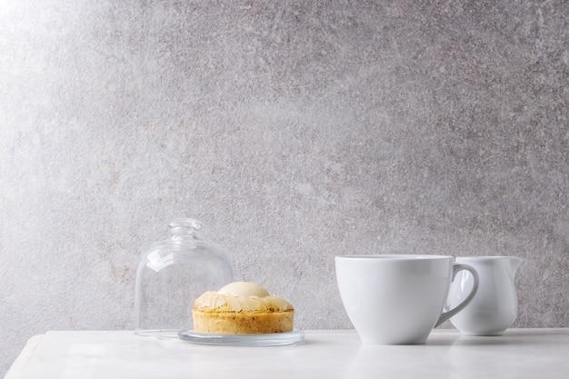 Tartlet doce com café Foto Premium