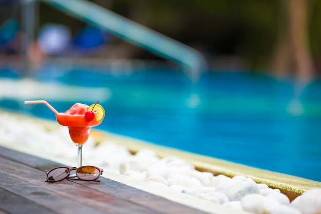 Tasty cocktail coquetel Foto Premium