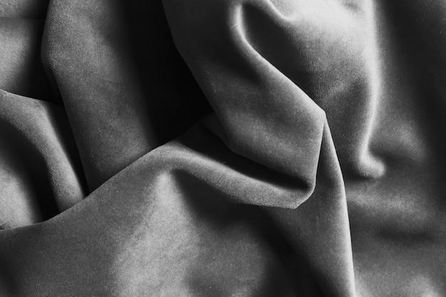 Tecido de seda cinza material para decoração de casa Foto gratuita