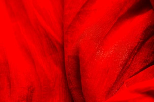 Tecido de textura vermelho close-up de terno Foto gratuita