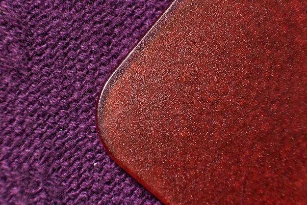 Tecido e cena de fundo de plástico Foto Premium
