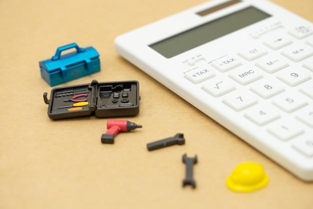 Tecla tax teclado para cálculo de impostos. Foto Premium
