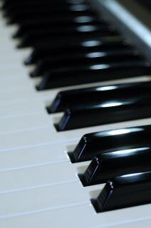 teclado musical Foto gratuita