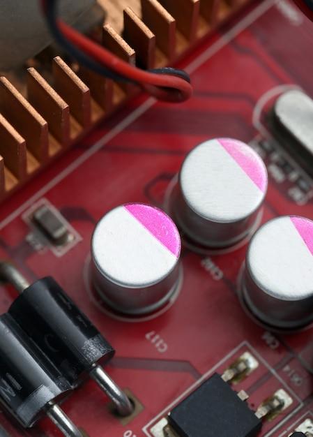 Tecnologia da placa-mãe de computador eletrônico Foto gratuita