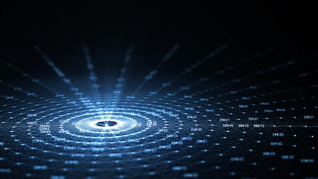 Tecnologia inteligência artificial (ia) e internet das coisas iot Foto Premium
