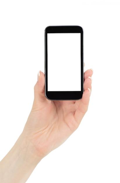 Tela do celular Foto Premium