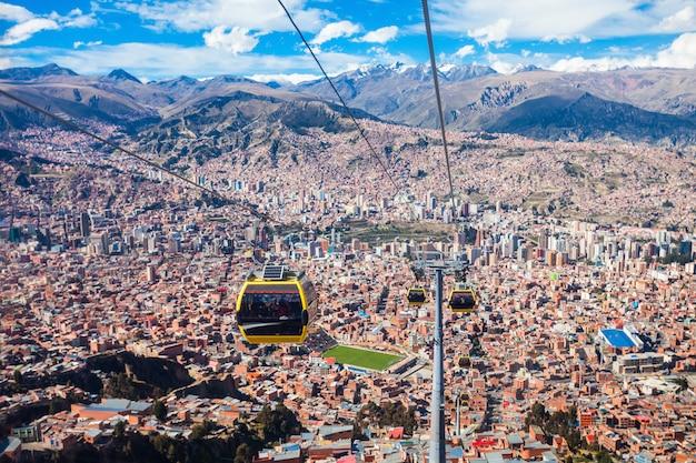 Teleférico, lapaz Foto Premium