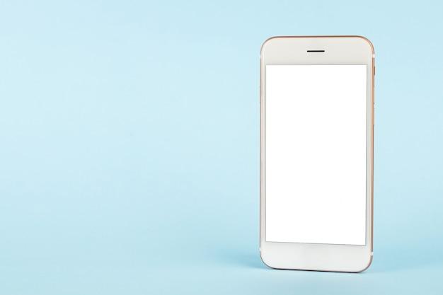 Telefone móvel com fundo de espaço de cópia Foto Premium