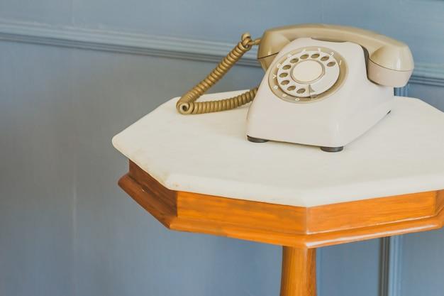 Telefone vintage - filtro vintage Foto gratuita