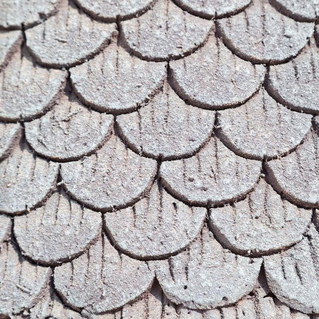 Telhado de cimento Foto Premium