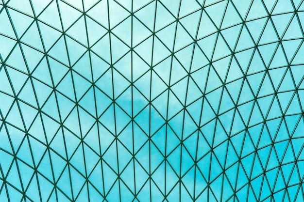 Telhado panorâmico moderno de vidro Foto Premium