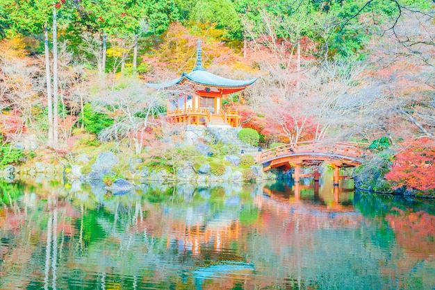 Templo daigoji Foto gratuita