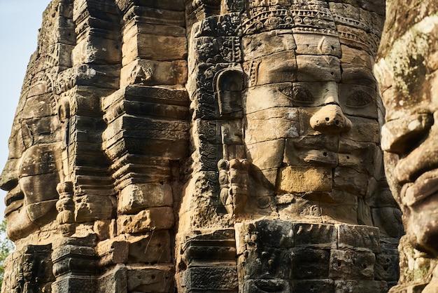 Templo de angkor wat Foto gratuita