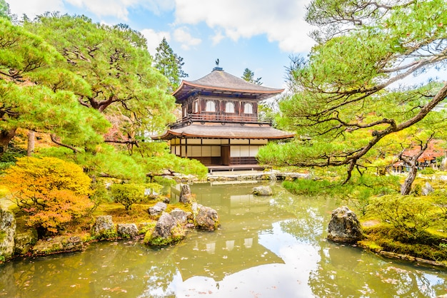 Templo de ginkakuji Foto gratuita