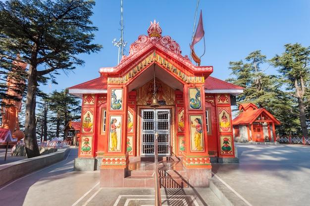 Templo de jakhoo, shimla Foto Premium