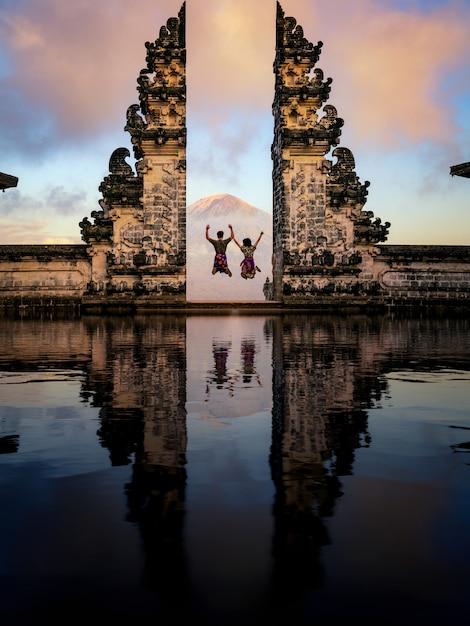 Templo de lempuyang Foto Premium