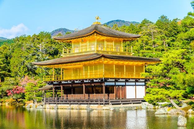 Templo kinkakuji Foto gratuita