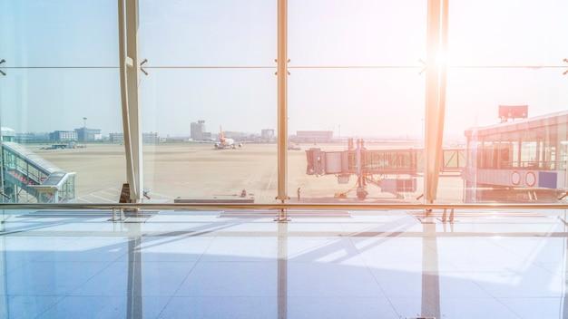 Terminal do aeroporto Foto gratuita