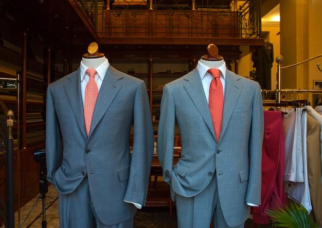 Ternos masculinos de negócios Foto Premium