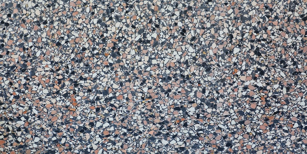 Terrazzo ou textura de mármore, fundo de pedra polida. Foto Premium