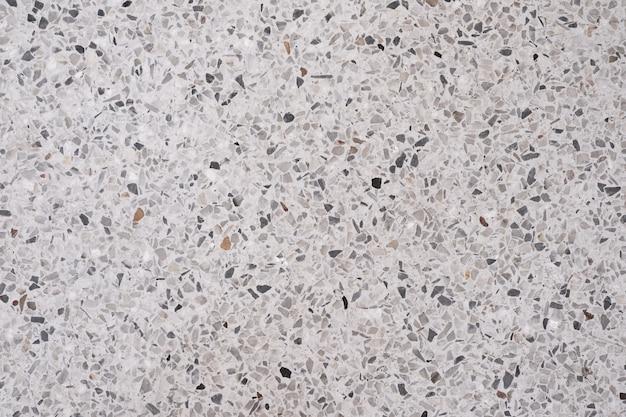 Terrazzo piso de pedra polida e padrão de parede Foto Premium
