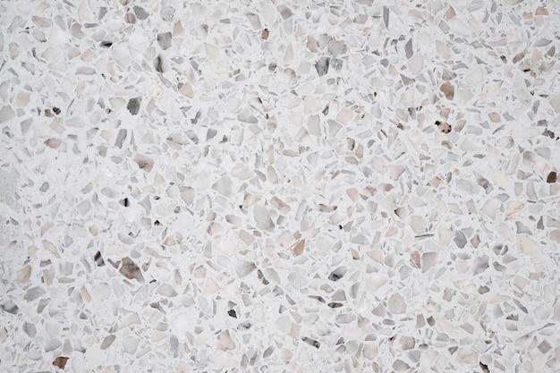 Terrazzo polido chão de pedra e fundo da parede Foto Premium
