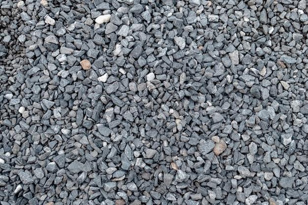 Teste padrão e textura do cascalho do granito para a paisagem e a construção. Foto Premium